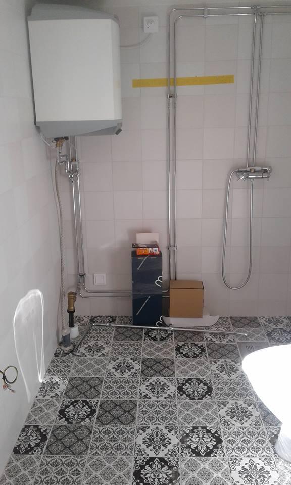 Kakling av badrum i Söderhamn, Plattsättning i Söderhamn, Plattsättning, Kakling.